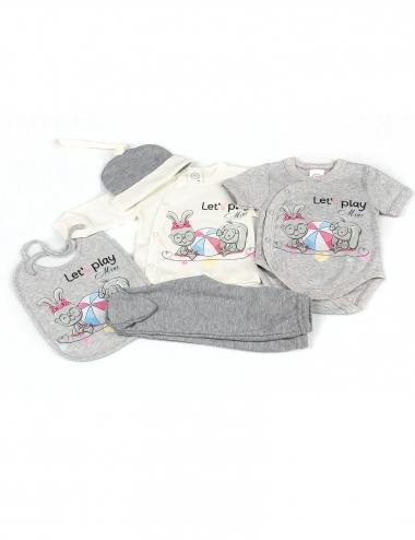 Бебешки комплект от 5 части...