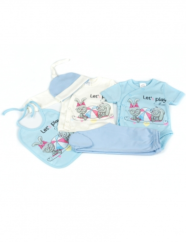 Комплект за бебе от 5 части...