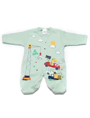 Бебешки гащеризон - зелен